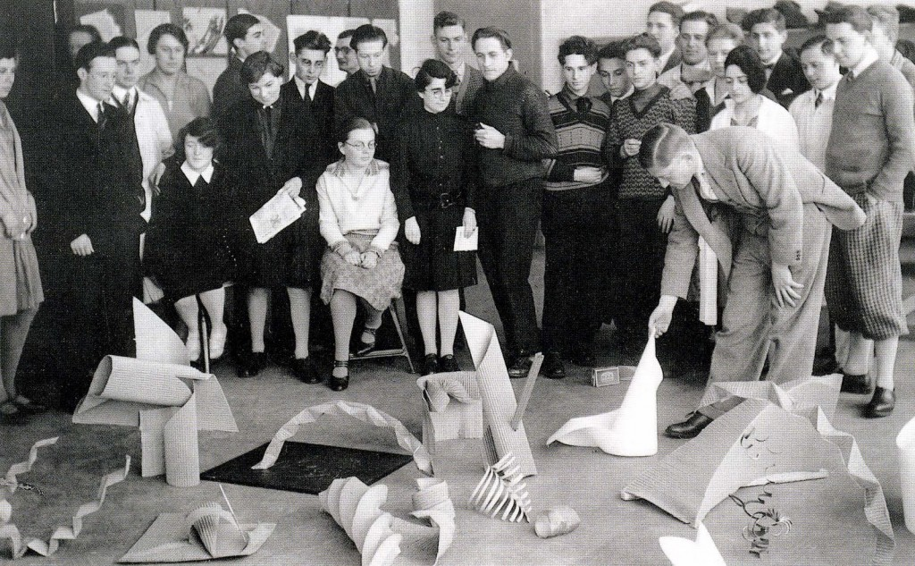 Preliminary class with Josef Albers