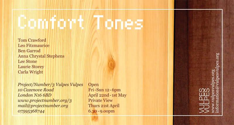 Comfort Tones Flyer